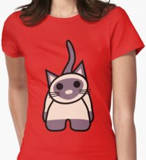 MoMo the Kitty Fitted T-Shirt