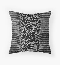 Unknown Pleasures - Joy Division Throw Pillow