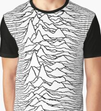 Unknown Pleasures - Joy Division Graphic T-Shirt