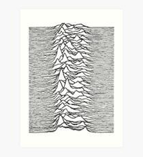 Unknown Pleasures - Joy Division Art Print