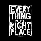 Everything in Its Right Place - Radiohead by merioris