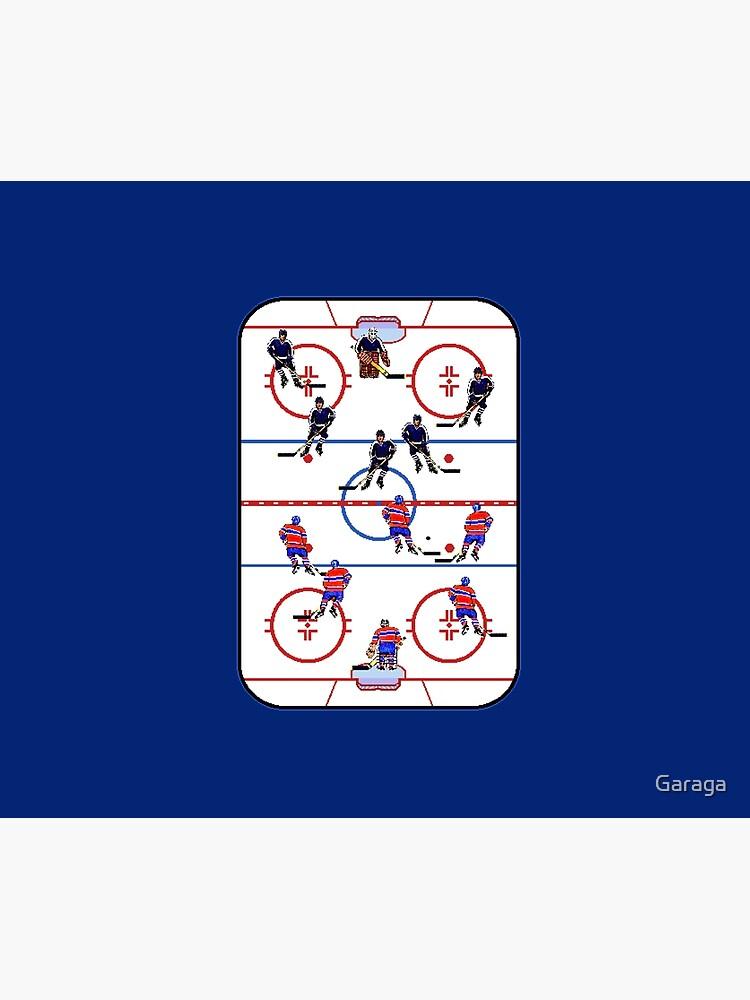 Pixel Art Hockey Rink by Garaga