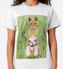 Serval Cat Classic T-Shirt