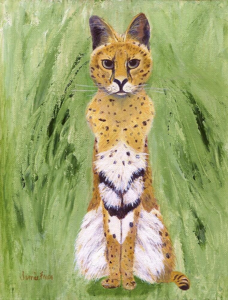 Serval Cat by jfrier