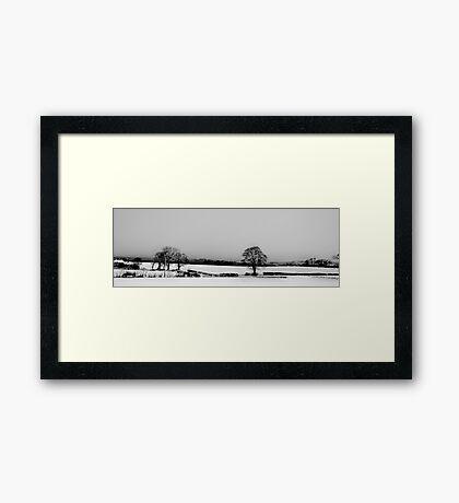 Over The Fields to Edinburgh Framed Print