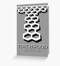 Torchwood Greeting Card