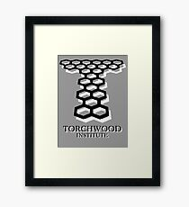 Torchwood Framed Print