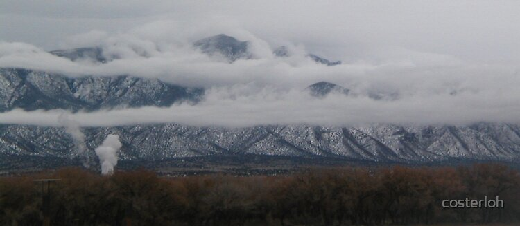 Clouds Surrounding the Sandias by costerloh
