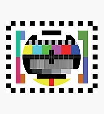 Mire - Testcard Photographic Print