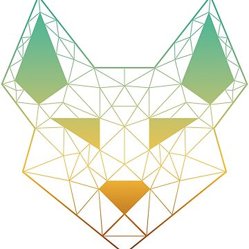 "Geometric Canine - ""View"" by GeometricFR"