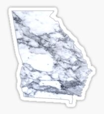 Marble Georgia Sticker