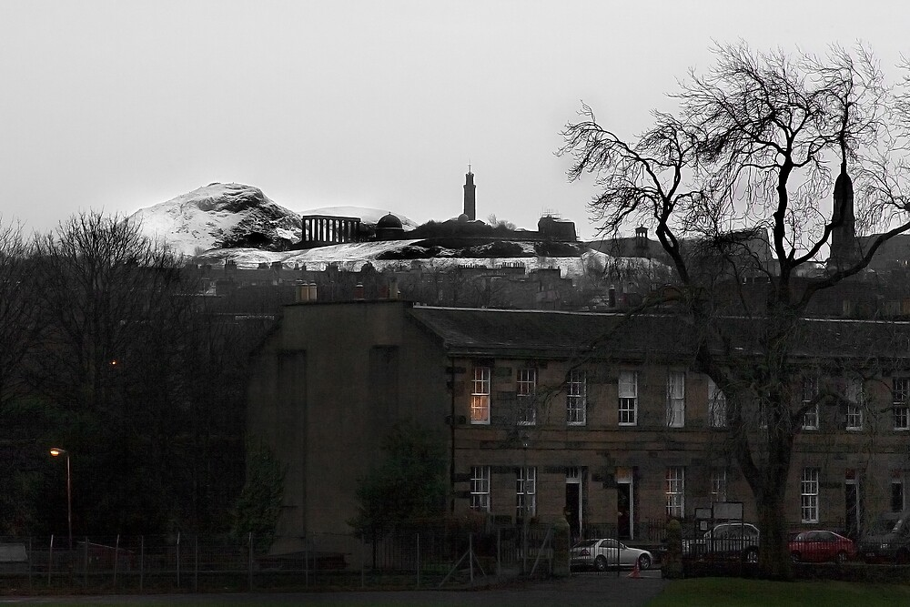 Winter in Edinburgh by Chris Clark