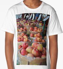 Basket of Apples  Long T-Shirt