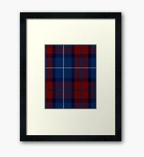Diaspora Tartan  Framed Print