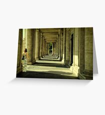 Colonnade Greeting Card