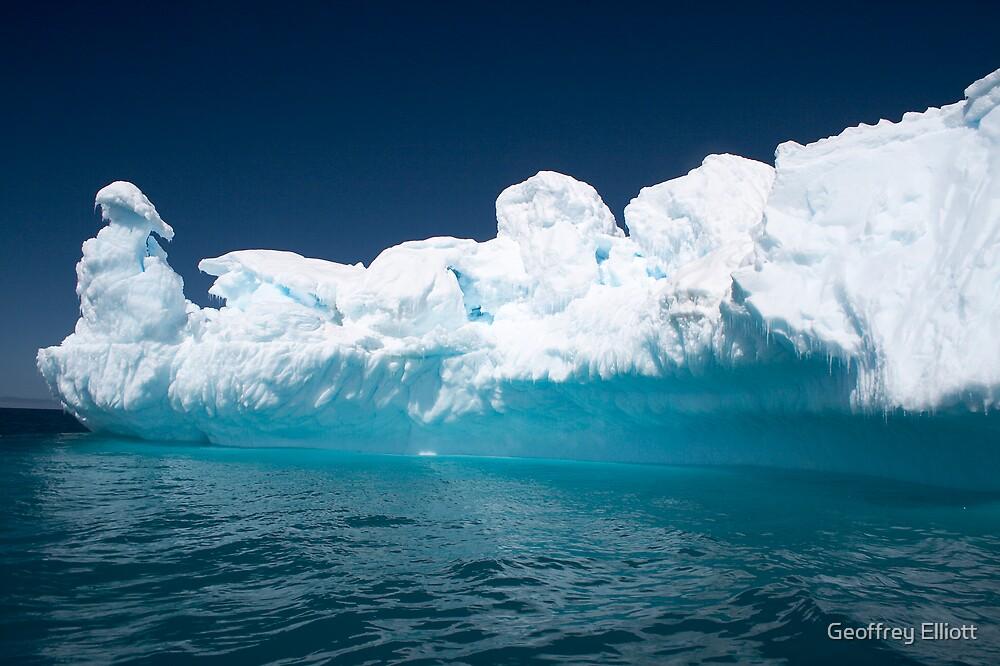 Sculptured Iceberg by Geoffrey Elliott