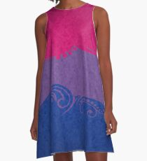 Bisexual Ornamental Flag A-Line Dress