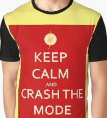 Impulse Keep calm and crash the mode Graphic T-Shirt