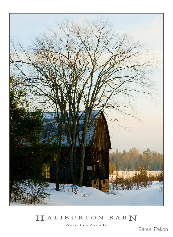 Haliburton Barn by Simon Fallon