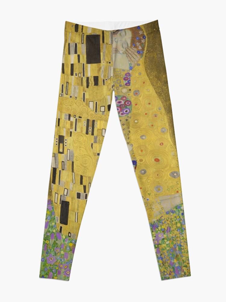 Alternate view of  The Kiss - Gustav Klimt  Leggings