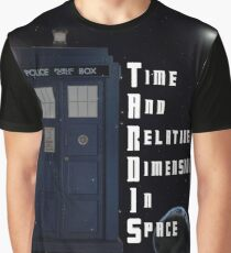 Time And Relative Dimension In Space TARDIS Graphic T-Shirt