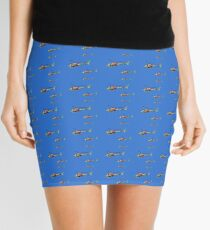 Helicopter Trio Mini Skirt