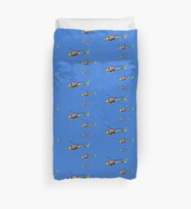 Helicopter Trio Duvet Cover