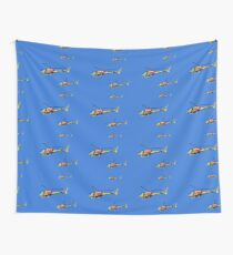 Helicopter Trio Wall Tapestry