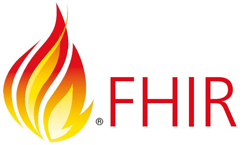 HL7 FHIR ® Flame & Text   by clarotechuk