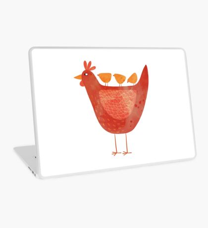 Hen and Chicks Laptop Skin