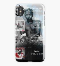 Kendrick Lamar studio album discography iPhone Case/Skin