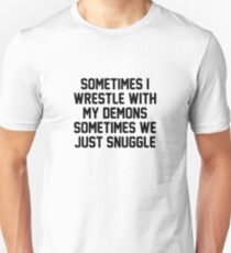 Demon Snuggle Unisex T-Shirt