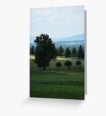 Landscape, Gettysburg Greeting Card