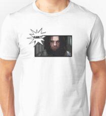 Comic Winter Soldier Unisex T-Shirt