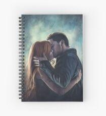 Clary & Jace Spiral Notebook