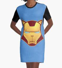 Iron cat Graphic T-Shirt Dress