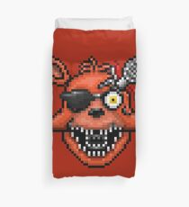 Five Nights at Freddy's 2 - Pixel art - Foxy Duvet Cover