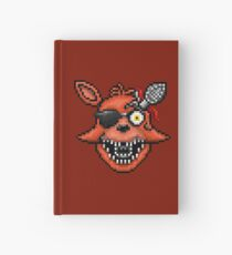 Five Nights at Freddy's 2 - Pixel art - Foxy Hardcover Journal