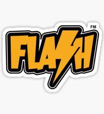 Flash FM Merchandise Sticker