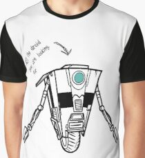 Claptrap - Not the droid you are looking for Graphic T-Shirt