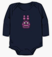 Five Nights at Freddy's 1 - Pixel art - Bonnie One Piece - Long Sleeve