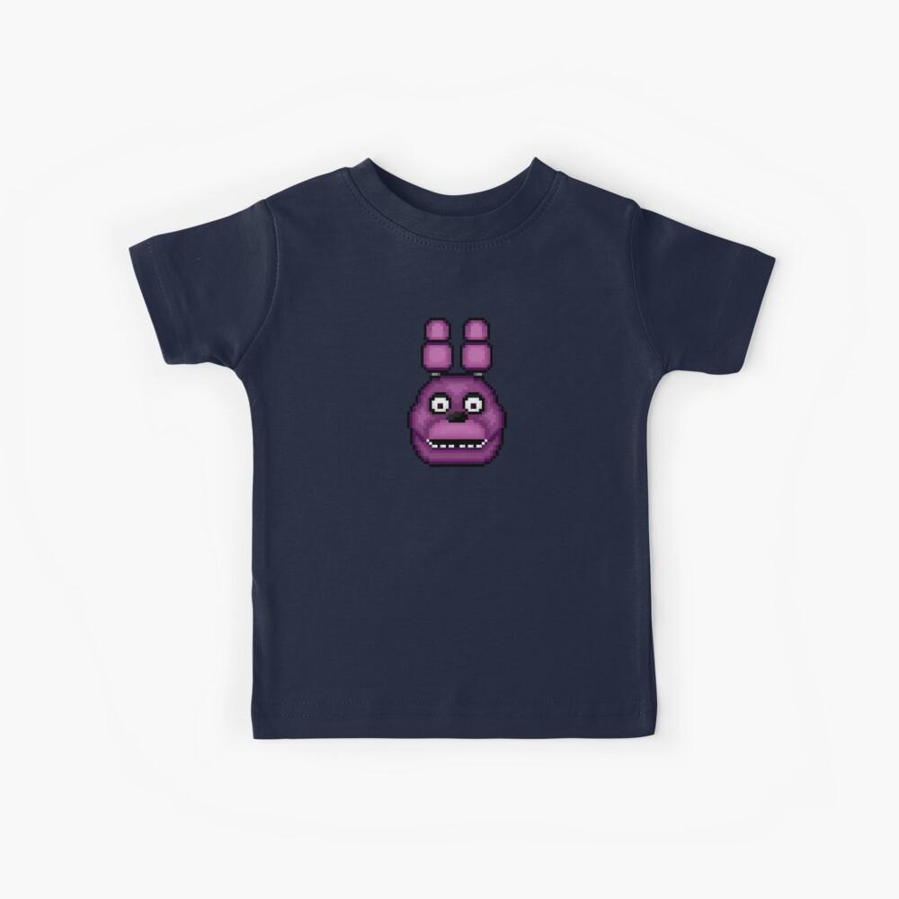 Fünf Nächte in Freddys 1 - Pixel Kunst - Bonnie Kinder T-Shirt