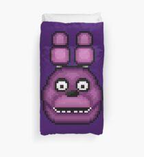 Five Nights at Freddy's 1 - Pixel art - Bonnie Duvet Cover