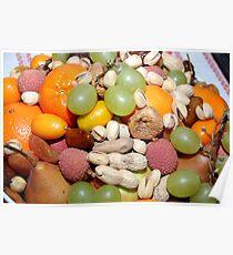 Früchteteller / Fruitplate Poster