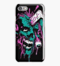 Kill zombie iPhone Case/Skin