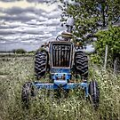 Old Ford Tractor by Savannah Gibbs