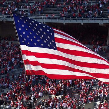 American Flag at the Horseshoe by SamuelP