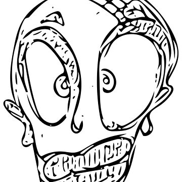 Ugly Skull/face by lapart