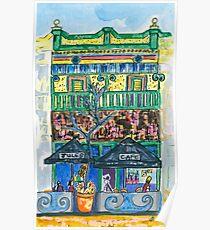 Jules Cafe Poster