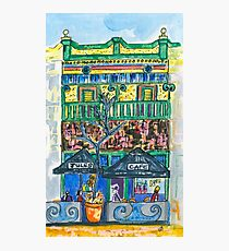 Jules Cafe Photographic Print